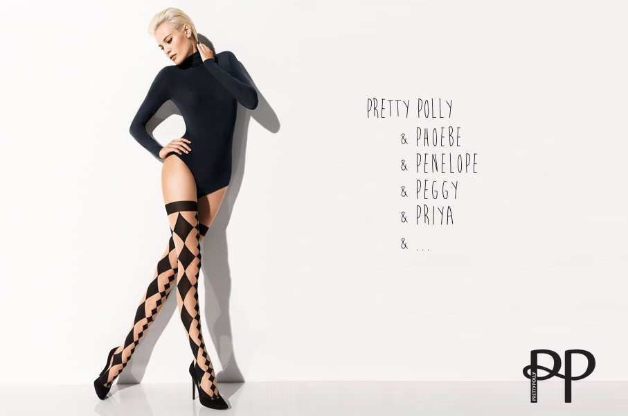 advertising concept for stockings - pretty everyone