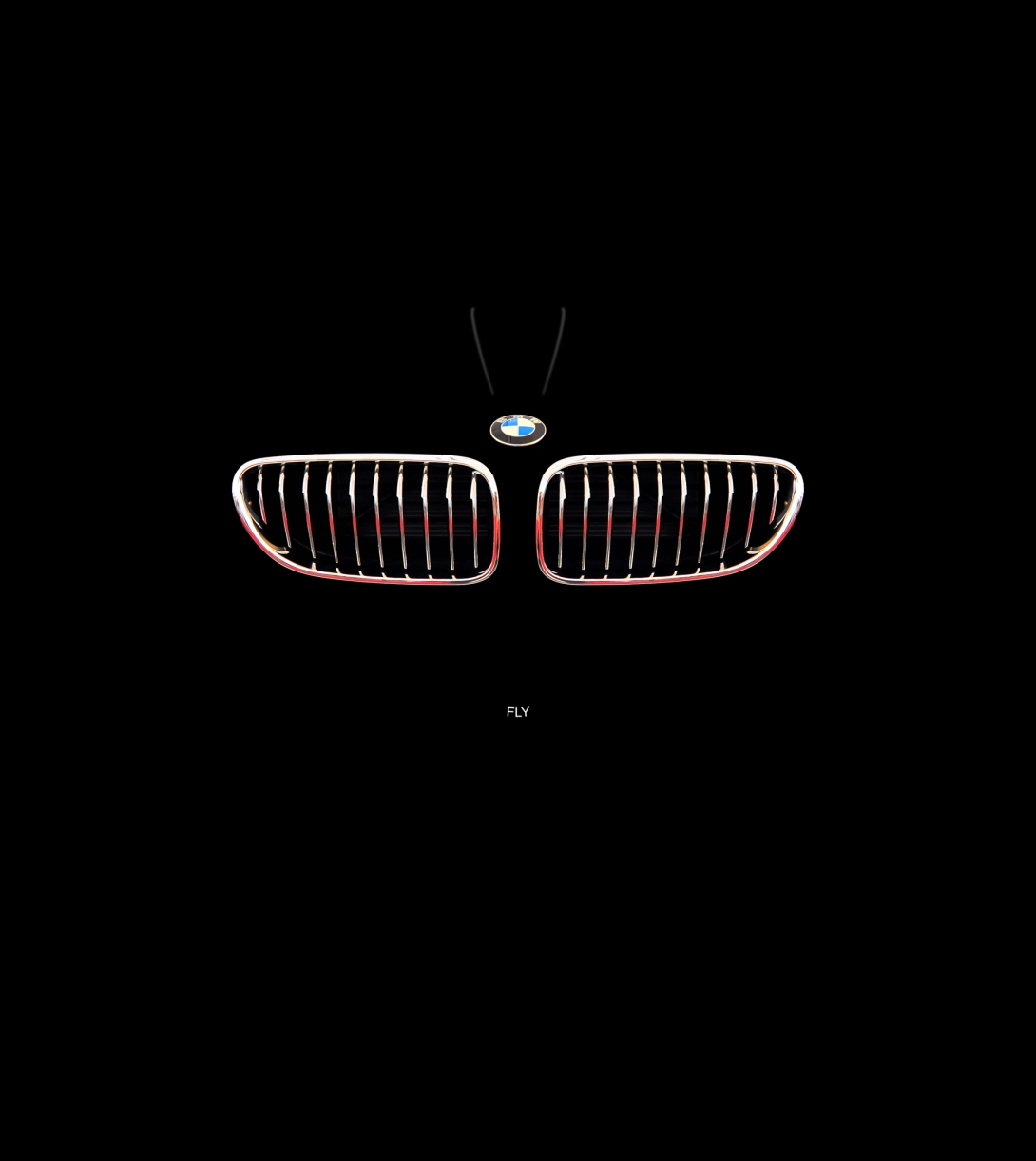 Advertising concept for BMW