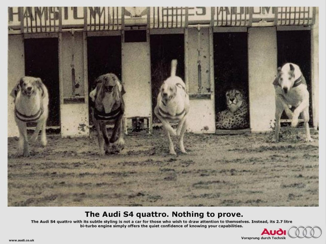 Classic Audio Quattro advert