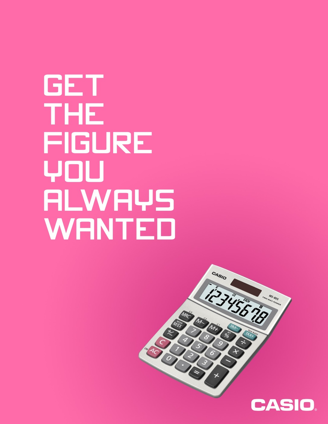 advertise calculators - get the figure you always wanted