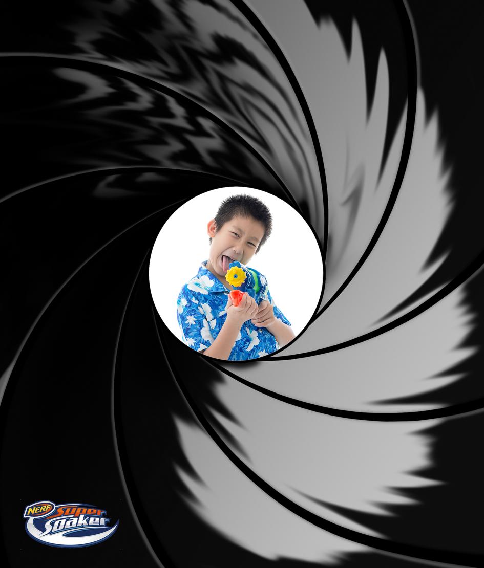Ad idea for super soakers - James Bond