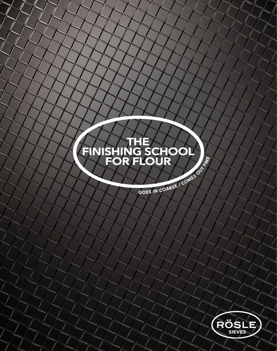 advertising concept for a sieves brand - finishing school