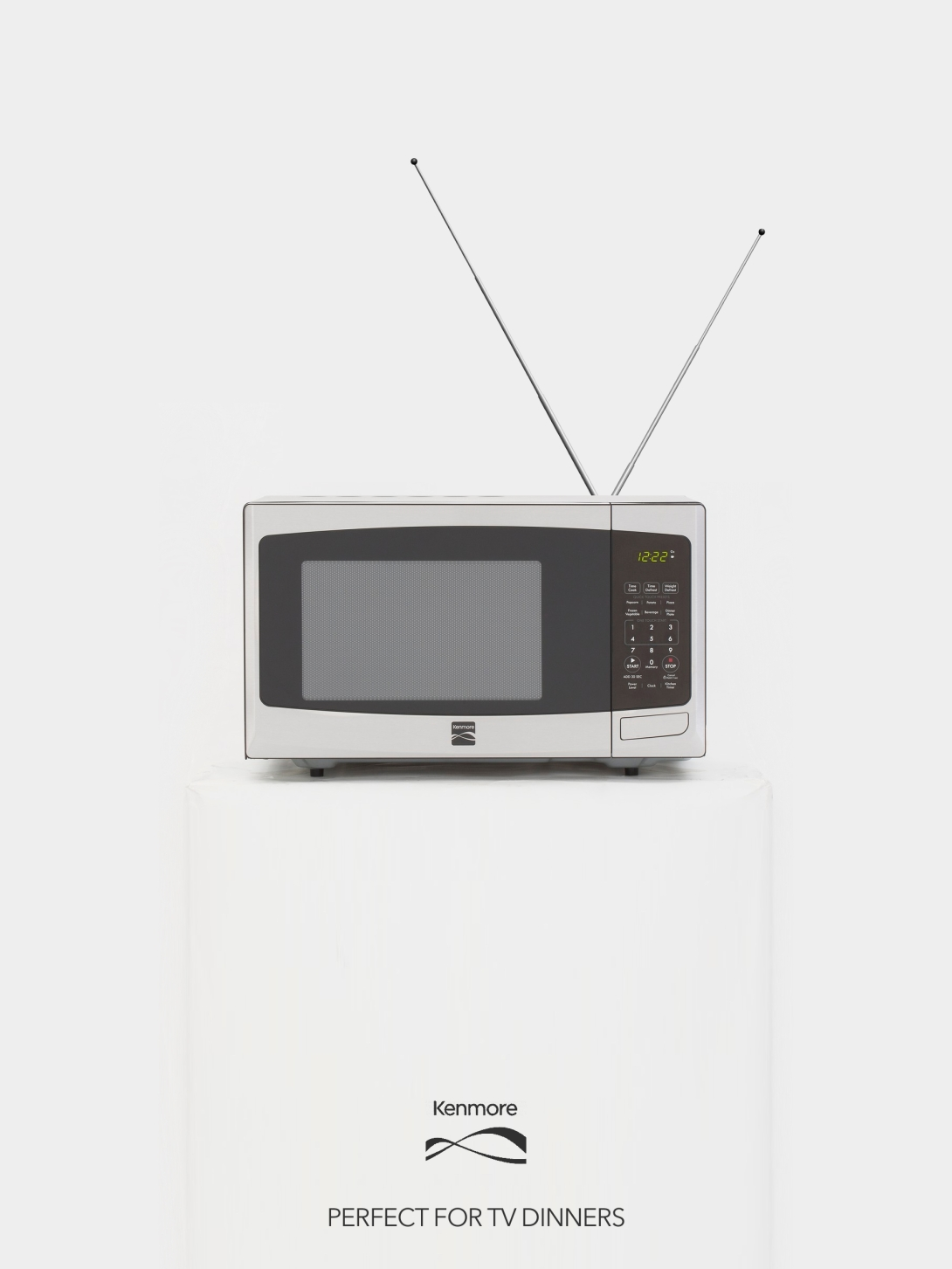 an advertising idea for a microwaves brand - tv dinners