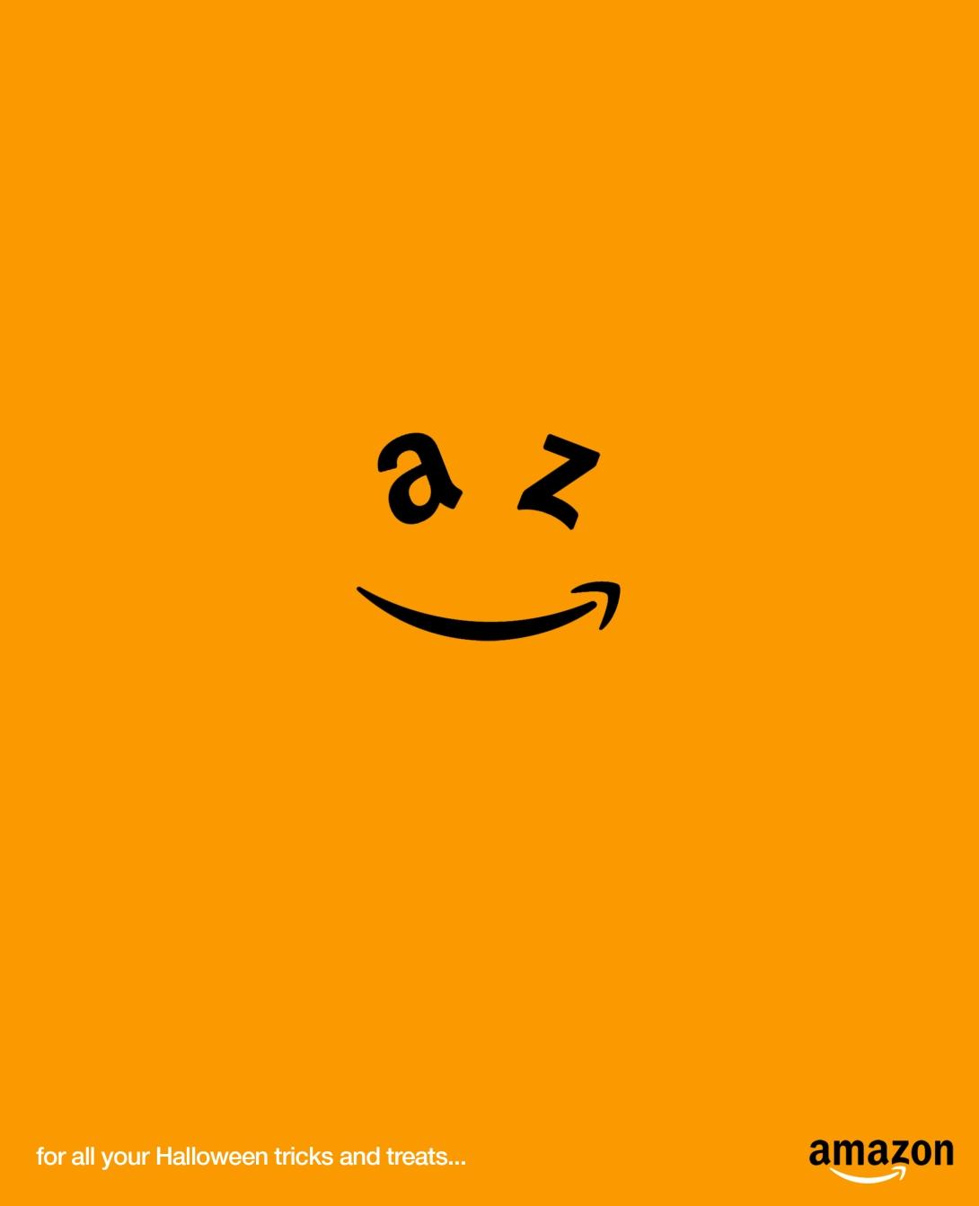 An advertising idea for Amazon at Halloween
