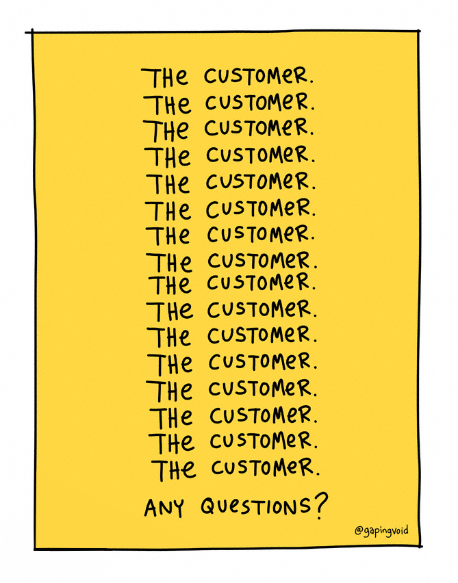 the customer the customer the customer