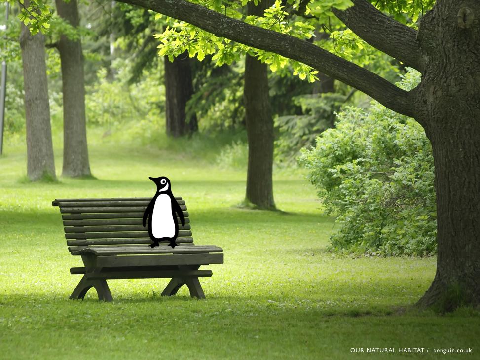 advertising idea for Penguin books