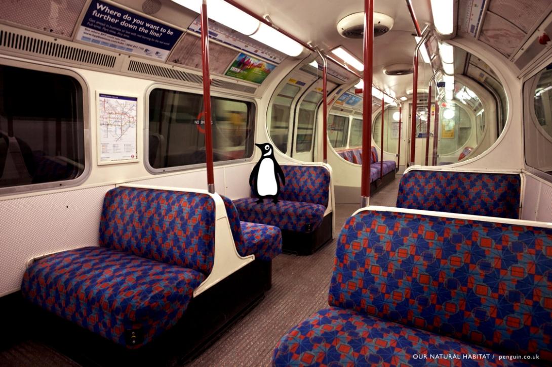 England, London, Underground Subway, Train Carriage Interior