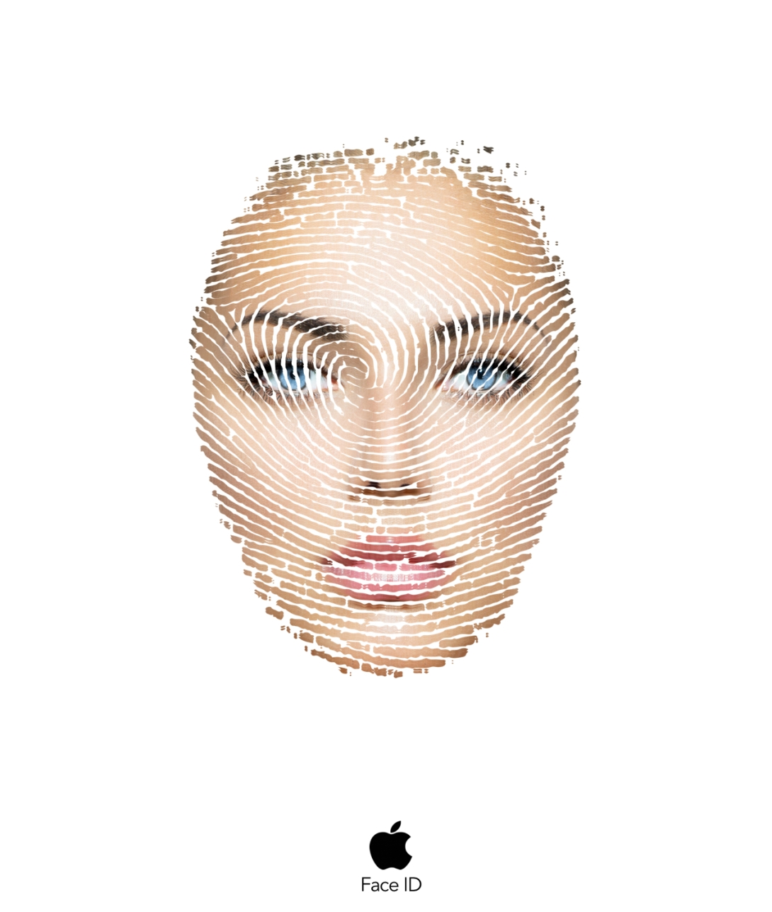 Advertising concept for FaceID