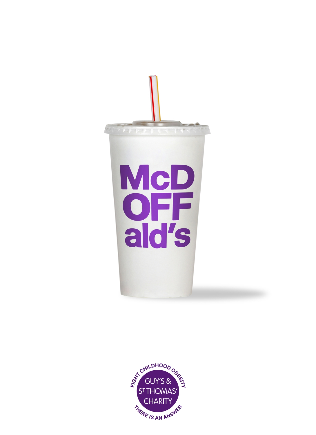 Advertising concept for an obesity charity