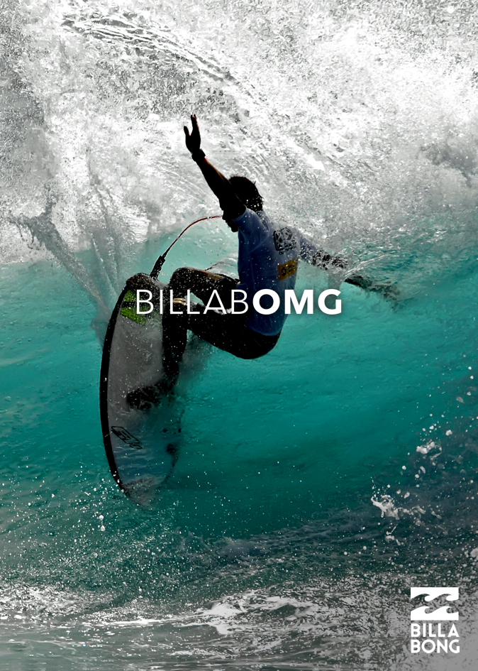 advertising concept for a well-known surf brand - Billabong