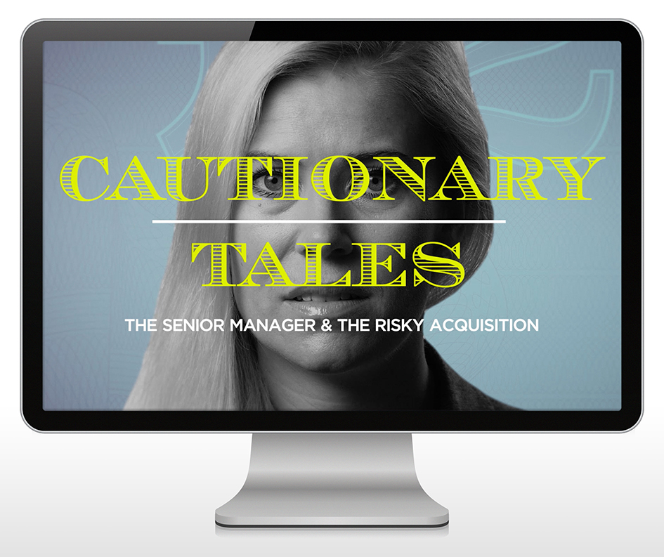 B2B content marketing example - cautionary tales