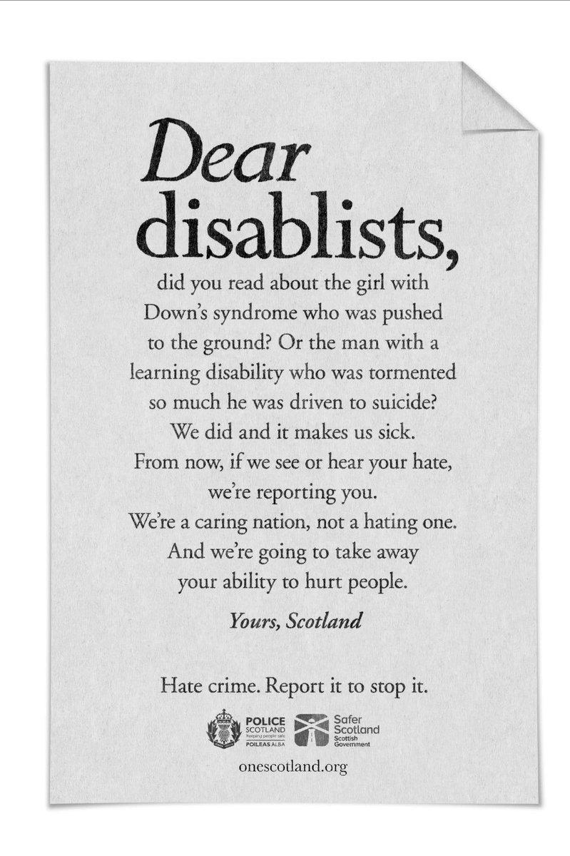 dear disablists