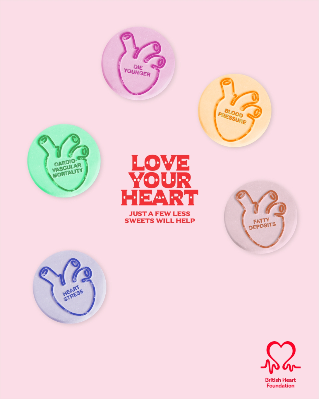love your heart - a quick advertising concept for the British Heart Foundation