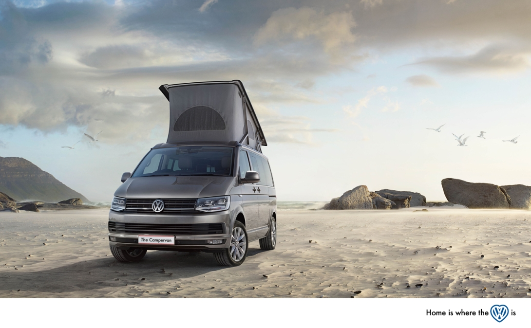 My attempt at an advert for the VW campervan