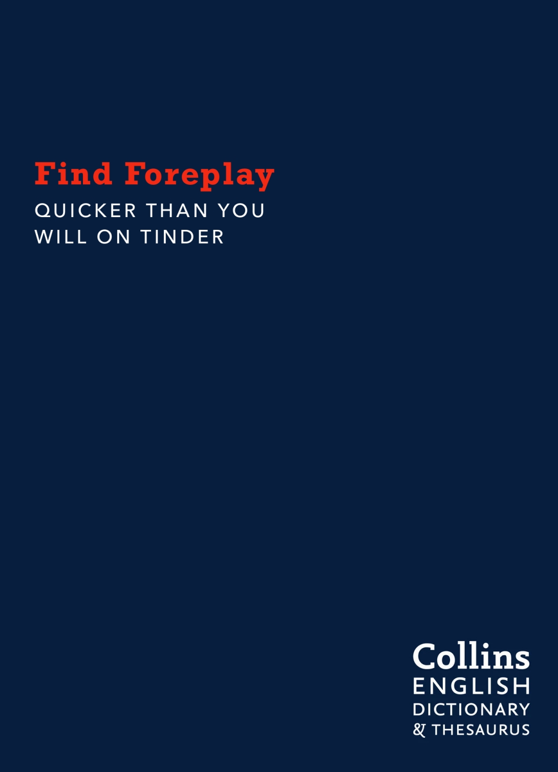DICTIONARY - FOREPLAY