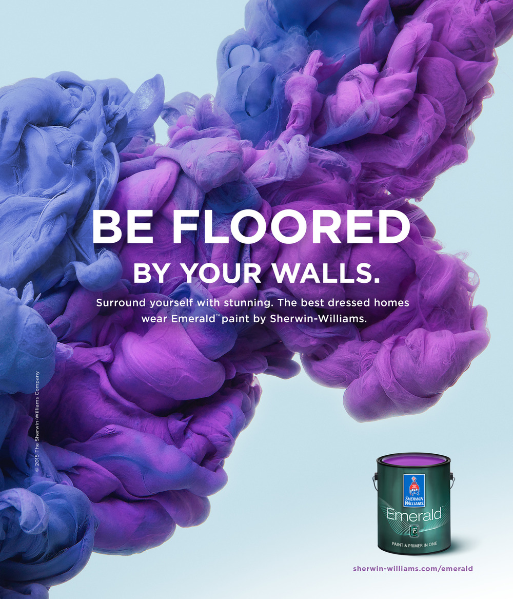 sherwin williams be floored print ad