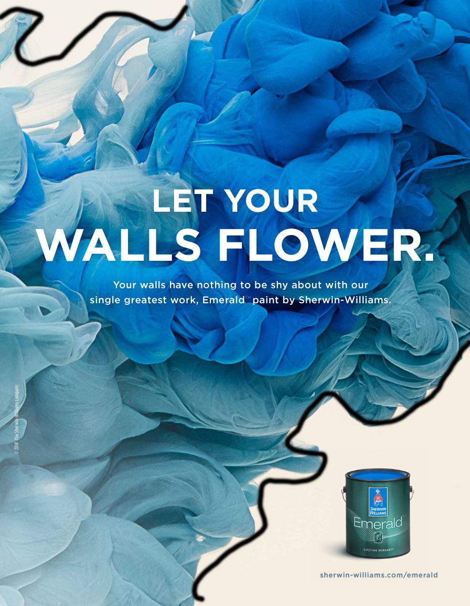 sw walls flower