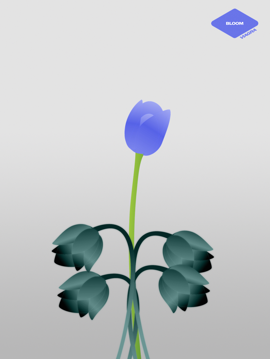 Bloom - advertising concept for Viagra