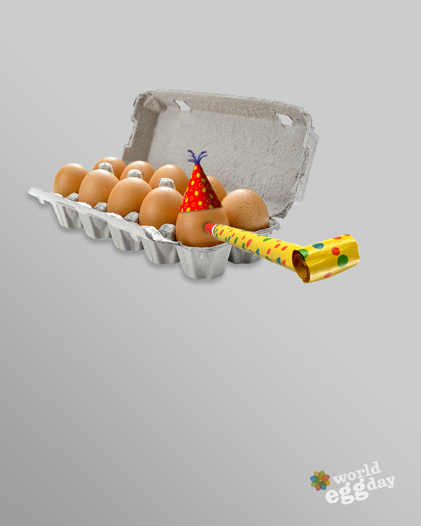 World Egg Day advertising